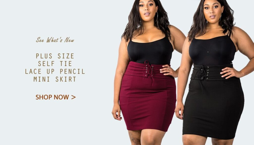 plus size skirts & pants